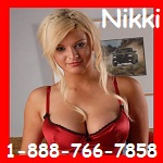 Phonesex with Nikki 888-766-7858