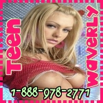 Phonesex with teen girl Waverly 1-888-978-2771